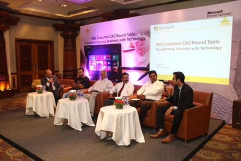 ABS CXO Roundtable Event, held on May 27th in Bangalore